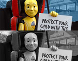 Protect your child with the correct car seat.